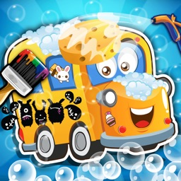 Baby School Bus Wash