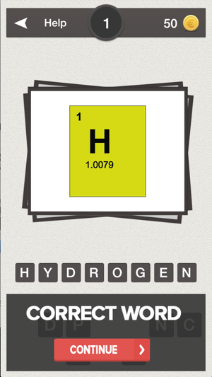 Periodic table quiz do you know the elements on the app store iphone screenshots urtaz Images