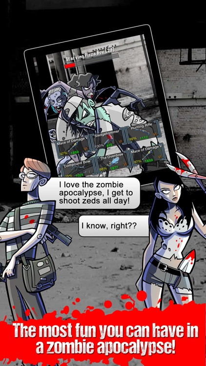 Please Stay Calm ™ - Zombie Apocalypse Survival MMO RPG screenshot-4