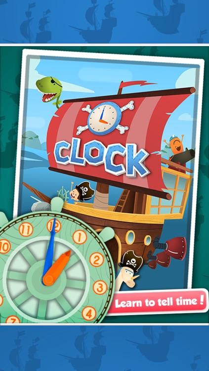 Bamba Clock: Learn to Tell Time screenshot-0