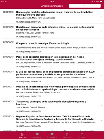 1684770b9fa1c ... Screenshot  3 for Revista Española de Cardiología ...