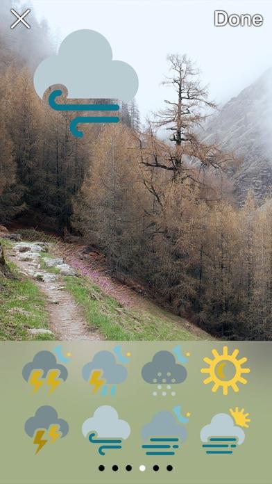 Iconic Weather Stickersのおすすめ画像1