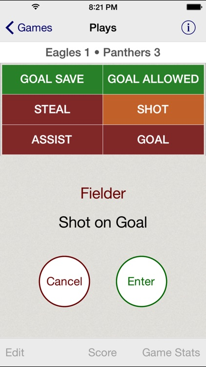 Stat Tap Soccer screenshot-2