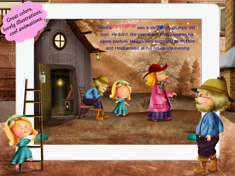 Heidi for Children by Story Time for Kids screenshot-3
