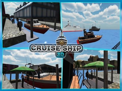 Sailing Cruise Ship Simulator 3D-ipad-1