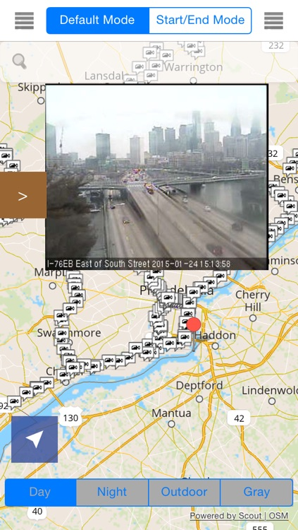 Pennsylvania Offline Map with Real Time Traffic Cameras Pro