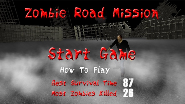 Zombie Road Mission screenshot-2