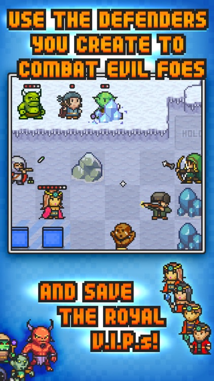 Pixel Defenders Puzzle screenshot-2