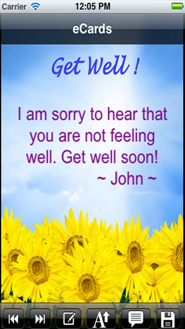 Get well cards with photo editor send get well soon greetings card screenshot 6 for get well cards with photo editor send get well soon greetings m4hsunfo