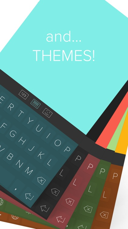 QWERKY - swipe keyboard for emoji, text, and numbers screenshot-4