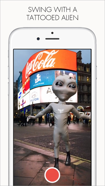 Augmented Reality Movie Maker. Funny 3D Dancing Stickers & Effects by Cyoub. screenshot-3
