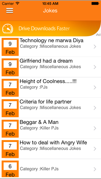 IndianJokes screenshot three