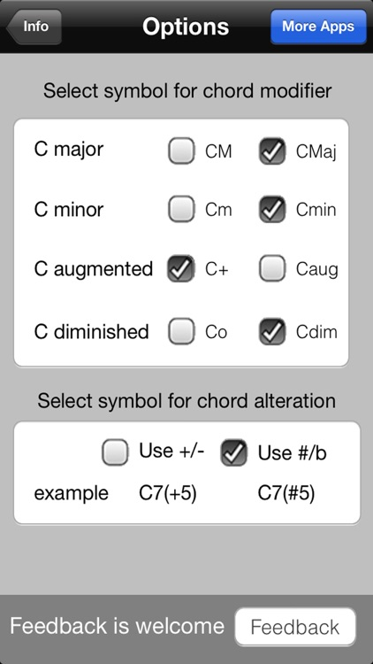 FastChords - piano chords calculator screenshot-4