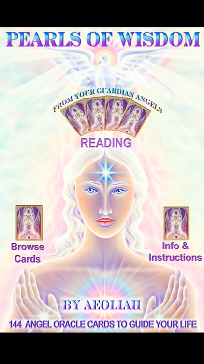 PEARLS OF WISDOM ANGEL CARDS ~ AEOLIAH