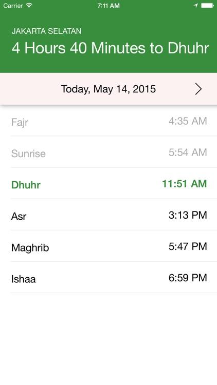 Salat Times (Muslim Prayer Times)
