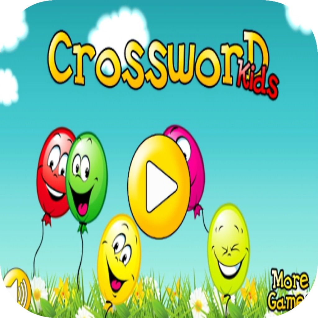 Crossword for kids - Math and Numbers educational games for kids in Preschool and Kindergarten