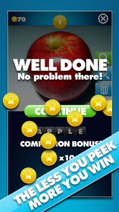 Through The Keyhole - Take a peek at the pic and guess the word screenshot three