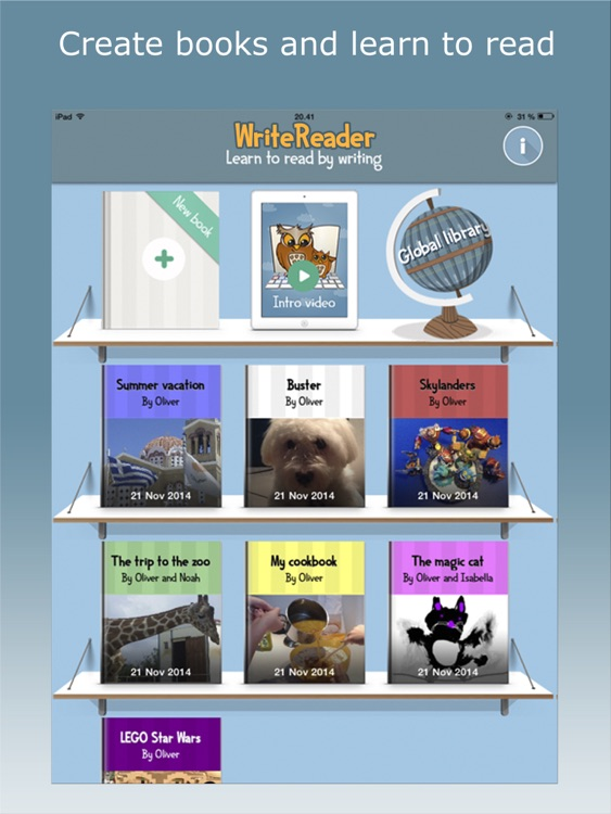 WriteReader Home
