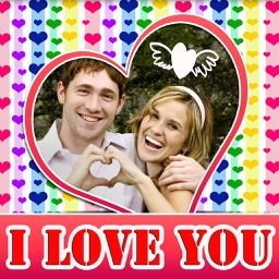 I Love You Photo Frames and Labels