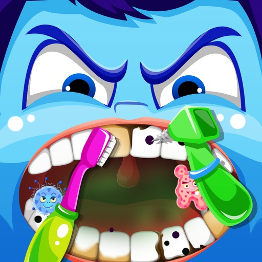 Inside Little Nick's Dentist Office – Crazy Tooth Story Games Free