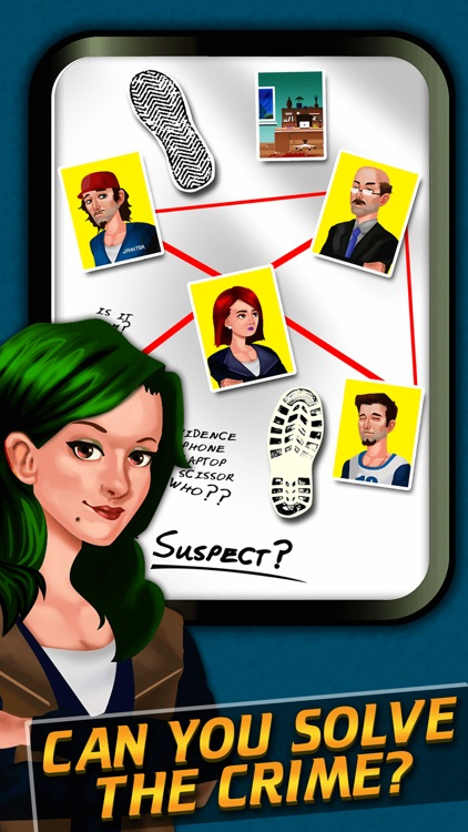 Criminal Agent Murder Case 101 - Investigate and Solve the Secret Mystery - Crime Story Game screenshot-0