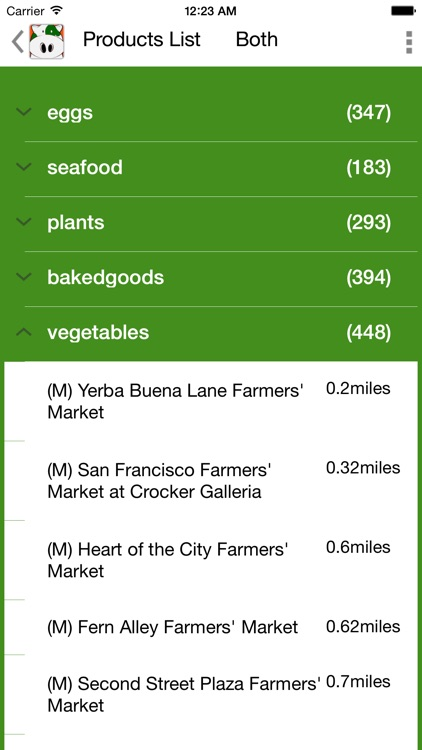 CarrotCow; Find and Locate Farmers Markets in the United States and Australia screenshot-4