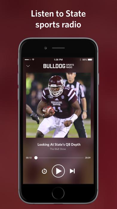 Bulldog Sports Radio screenshot two
