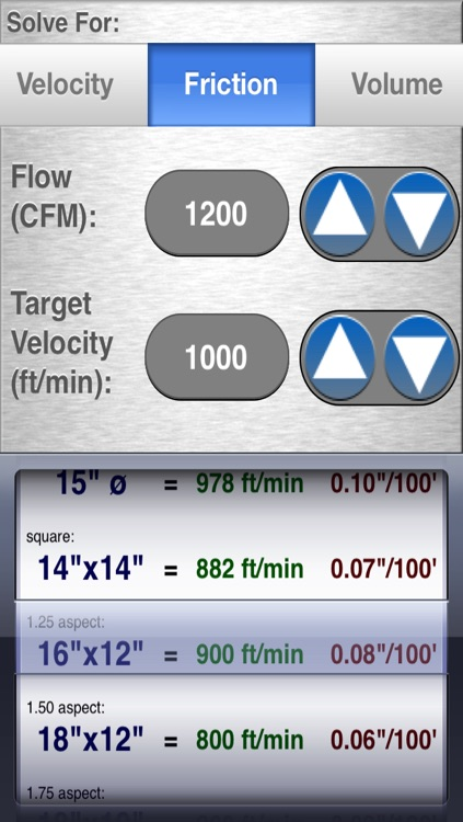 HVAC Duct Size Calculator screenshot-3