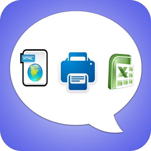 Export Messages - Save Print Backup Recover Text SMS iMessages download