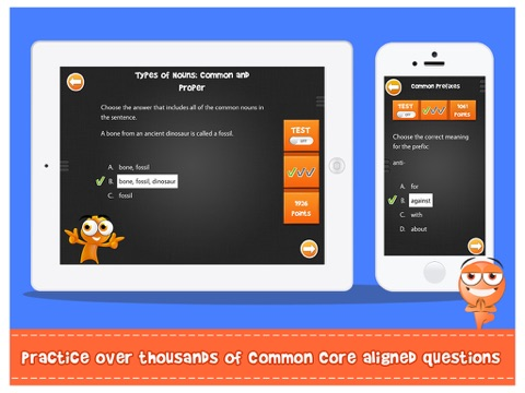 iTooch 6th Grade | Language Arts Screenshots
