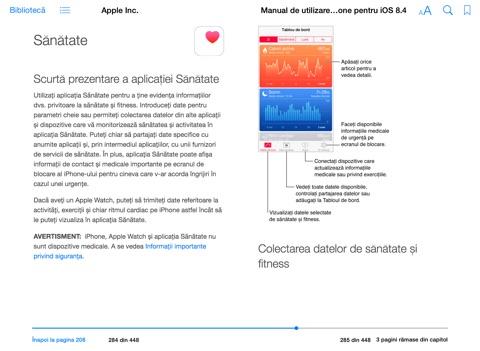manual de utilizare iphone pentru ios 8 4 by apple inc on ibooks rh itunes apple com manual utilizare iphone 4 in limba romana iPhone 5 Instruction Manual