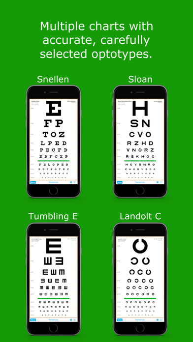 EyeChart - Vision Screening screenshot two