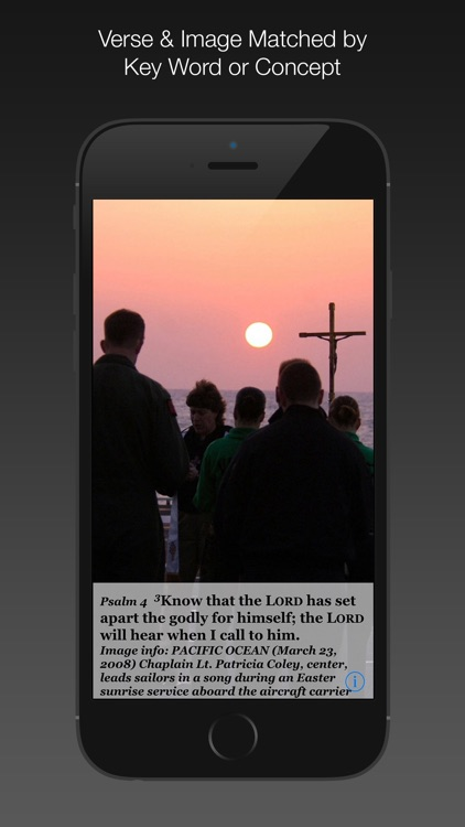 Navy Psalm Daily Quotes NIV by Systems of Merritt, Inc