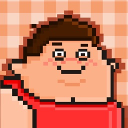 Fat People FREE GAME - Quick Old-School Retro Pixel Art Games