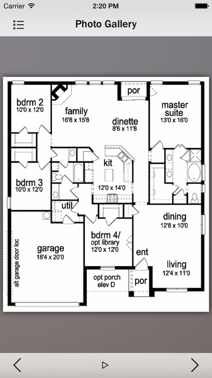 Ranch House Plans Master