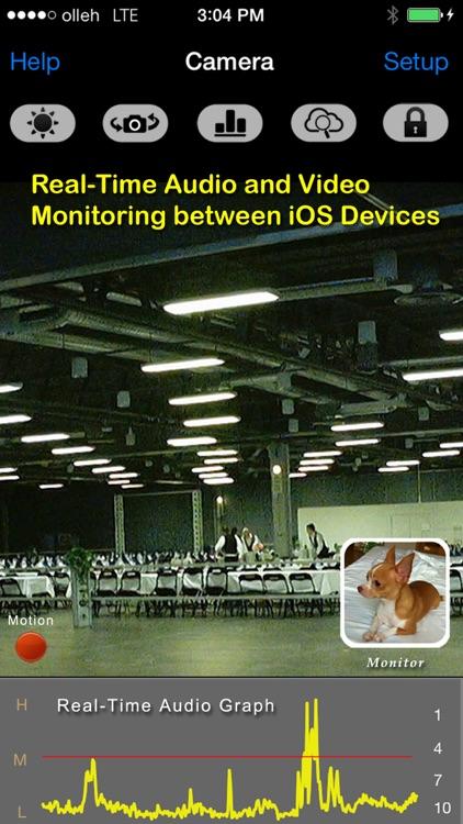 uMobileCam Lite: All-In-One Mobile Surveillance screenshot-3