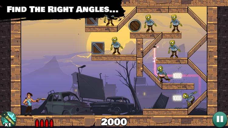 Stupid Zombies: Gun shooting fun with shotgun, undead horde and physics screenshot-3