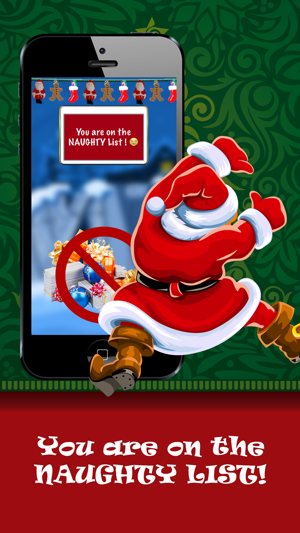 santa s nice or naughty list funny finger scanner to see whose good bad for christmas gift wish on the app store