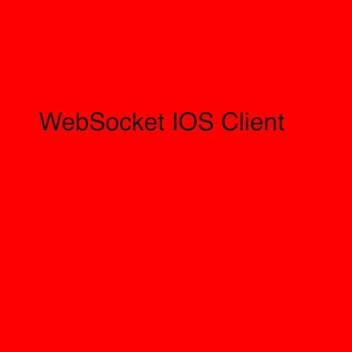 WebSocket Client iOS App