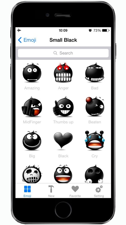 Emotion icons & Emoji keyboard & Animated Emoticon.s