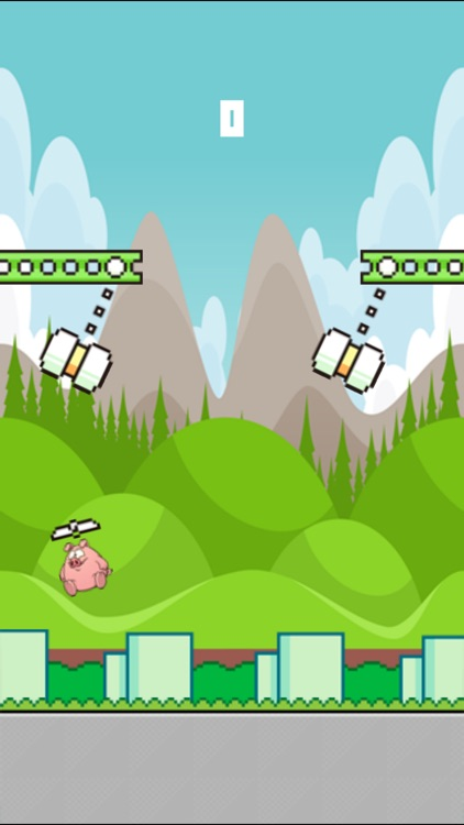 Flying Piggy - Fly The Piggy To The Top screenshot-3