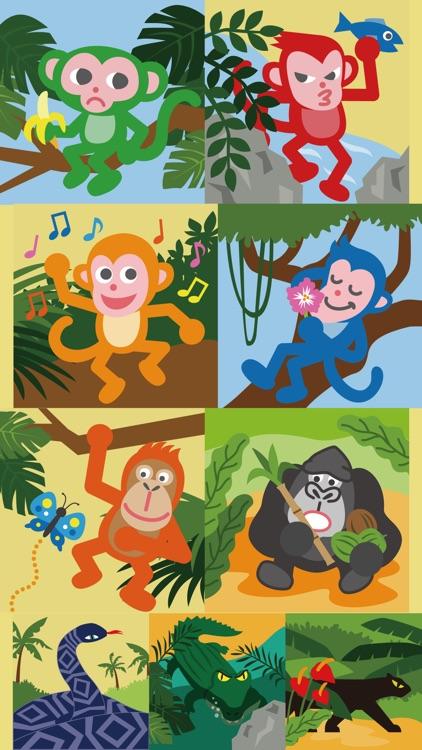 Monkey Tree - Free Puzzle Game screenshot-3