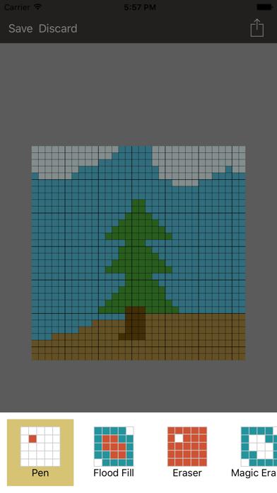 Pixel Board -- 8 Bit Art screenshot two