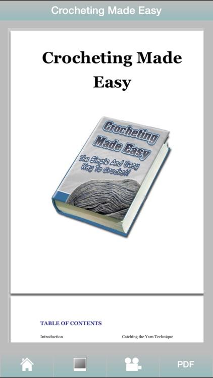 Crocheting Guide - Discover Easy Way To Crochet ! screenshot-4