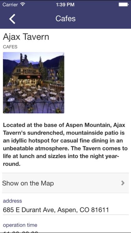 Aspen Places Guide
