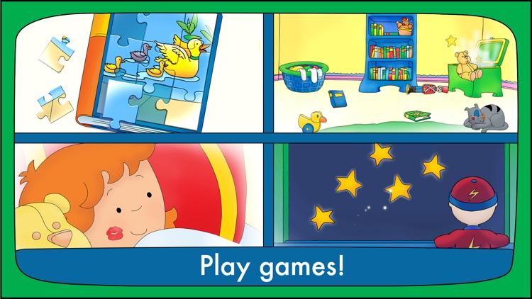 Goodnight Caillou – Bedtime Activities screenshot-3