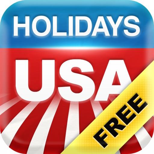 USA Holidays 2013 - 2017 Calendar and Events Countdown iOS App