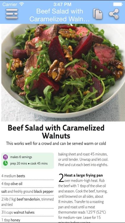 Low Calorie Recipes screenshot-3