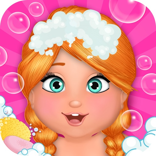 Baby Spa Salon - Princess Mega Massage Girl Game