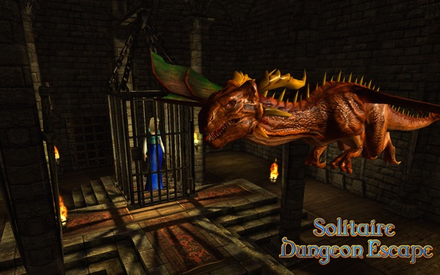 Solitaire Dungeon Escape Screenshot